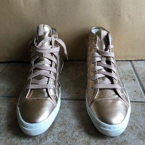 Geox Respira quilted sneaker